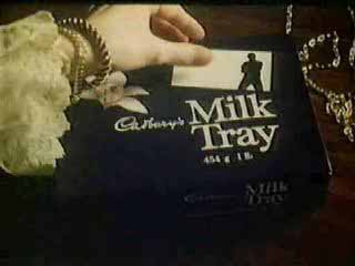 TV advert for Cadbury's Milk Tray
